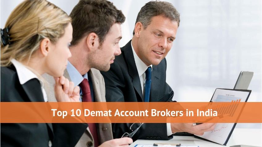 Top 10 Demat Account Brokers in India