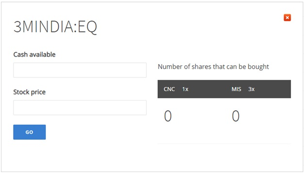Image1 - Zerodha Margin Calculator