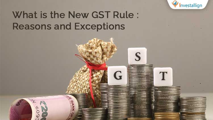 New GST Rule